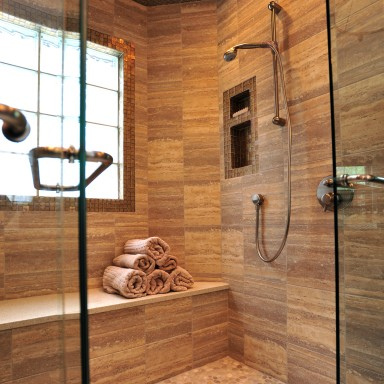 Soothing Steam Shower